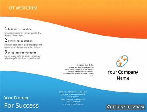 free microsoft office brochure templates