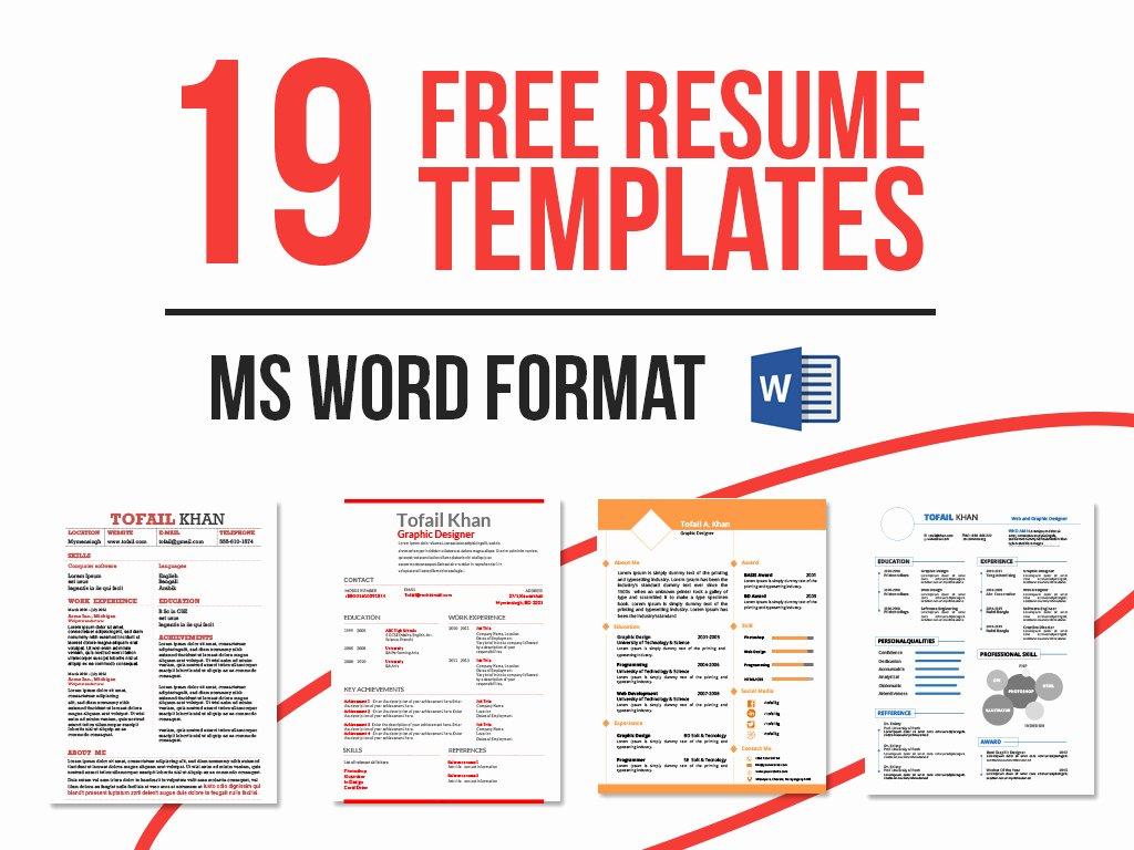 Download Free Monogram Resume forms – Perfect Resume format