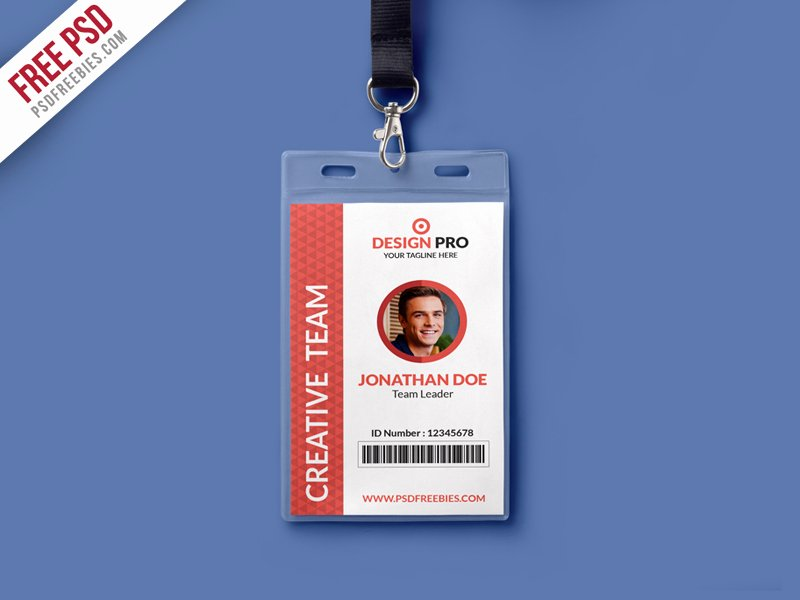 Download Free Name Tag Mockup Psd Download Psd