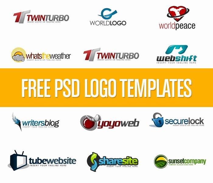 Download Free Psd Logo Templates