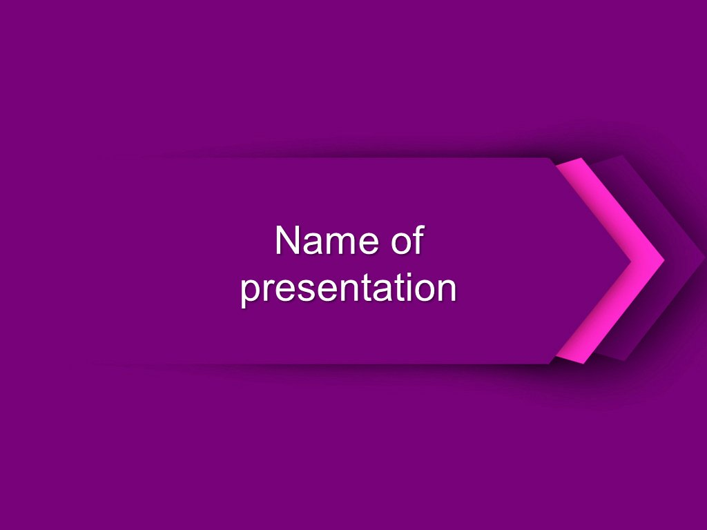Download Free Three Arrows Powerpoint Template for