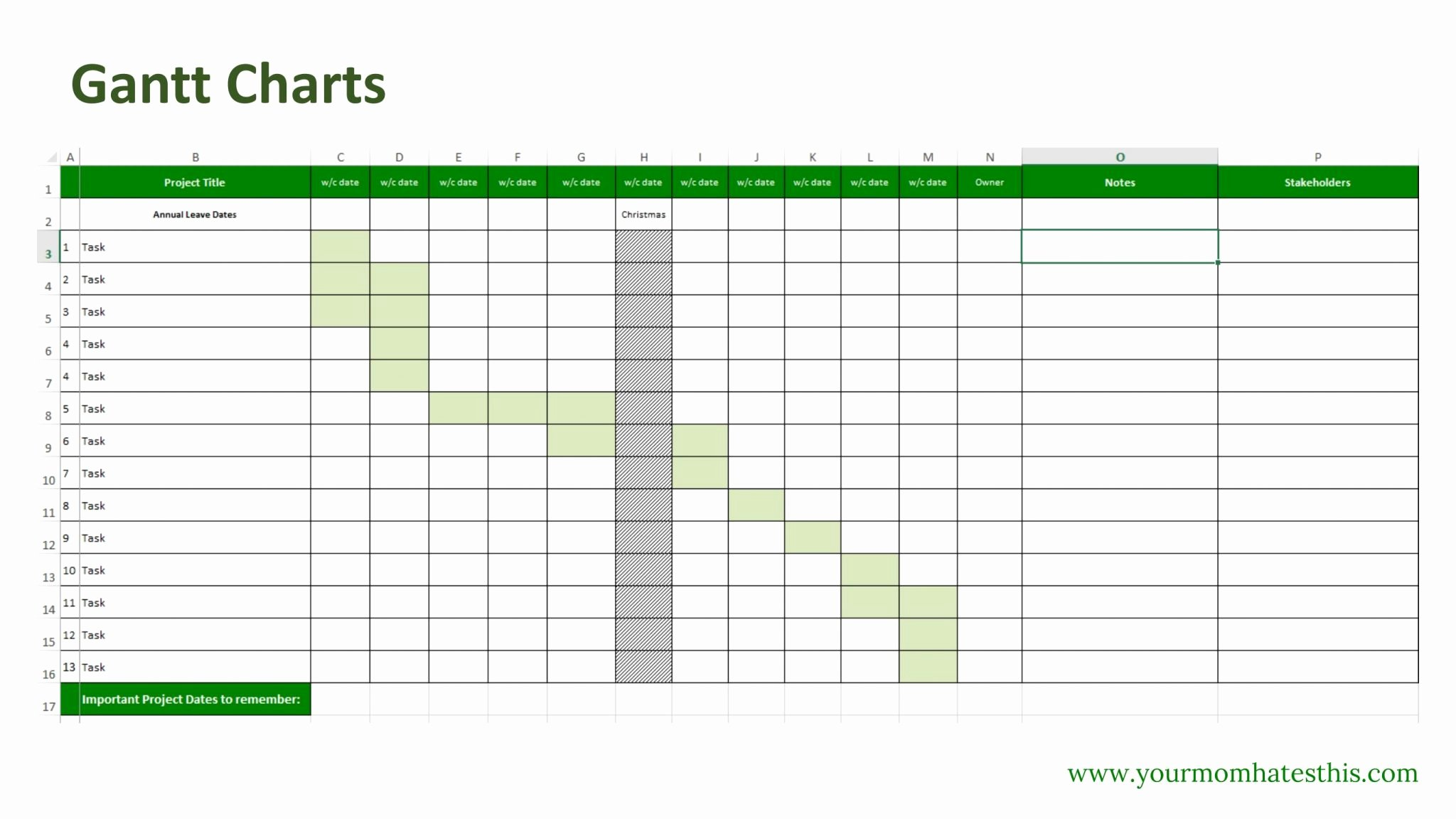 Download Gantt Chart Excel 2016