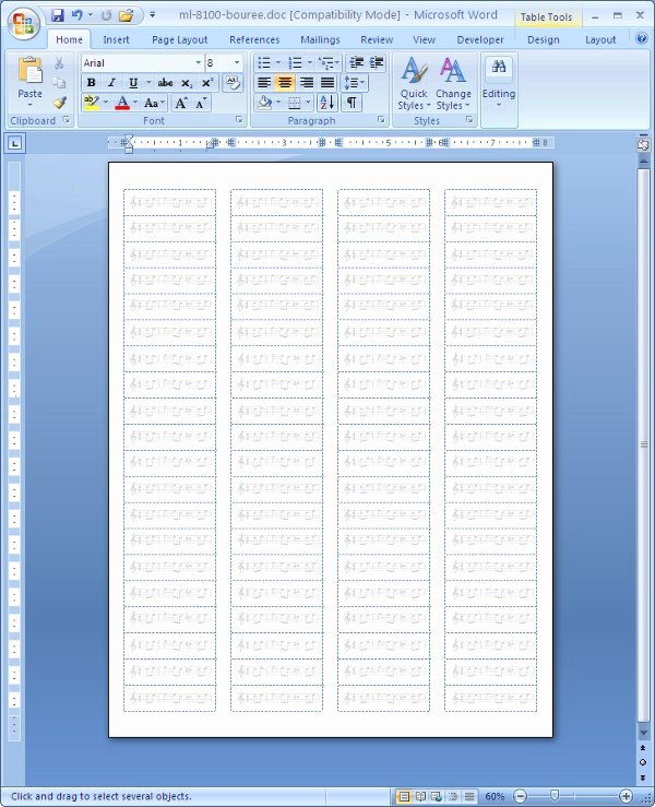 Download Label Word Templates 2007 Free Helpermexico