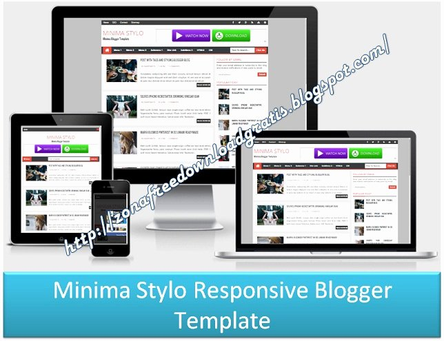 Download Minima Stylo Responsive Blogger Template 2016