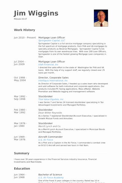 Download Mortgage Broker Resume Sample