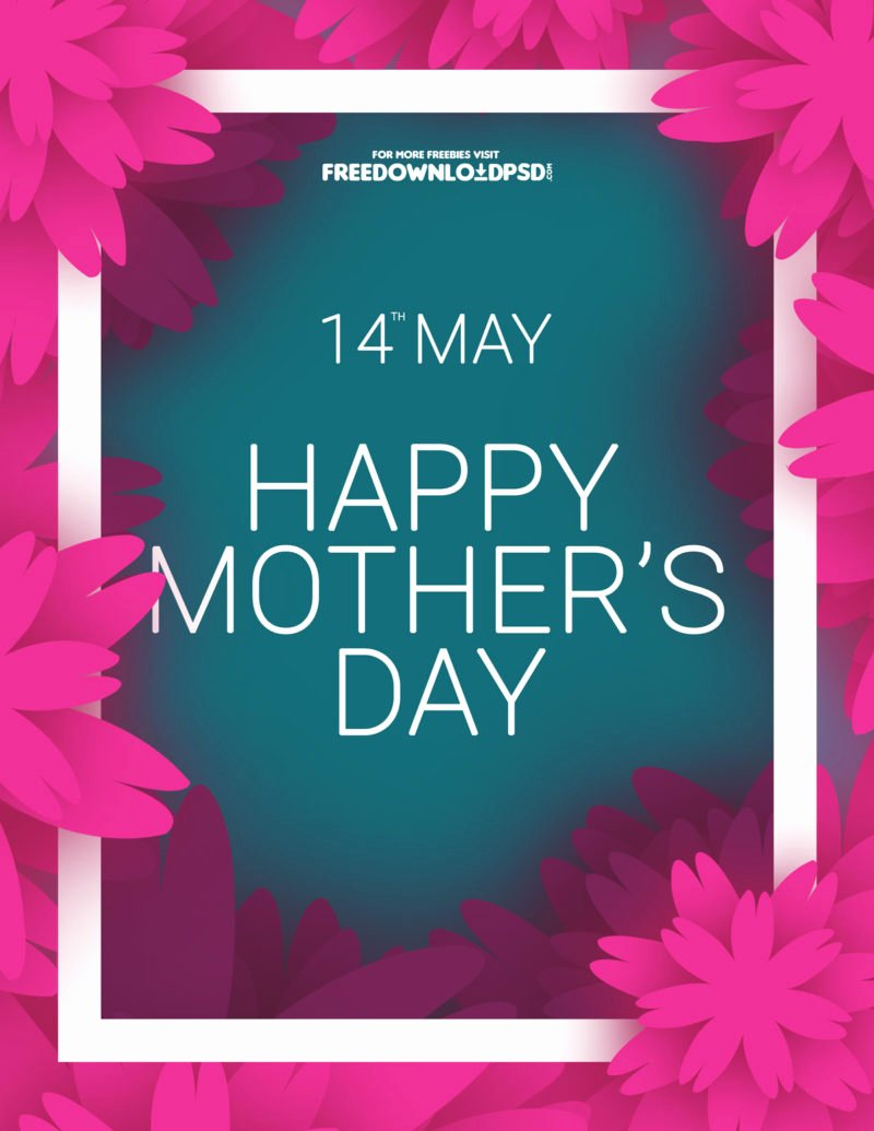 [download] Mothers Day Colorful Flyer