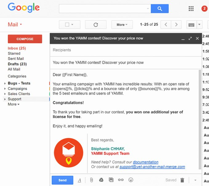 Download Our Sample 10 Gmail HTML Email Templates
