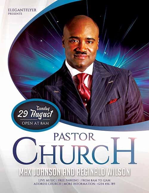 Download Pastors Church Template Flyer Psd Flyershitter