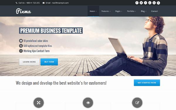 Download Pixma Responsive Multipurpose Bootstrap