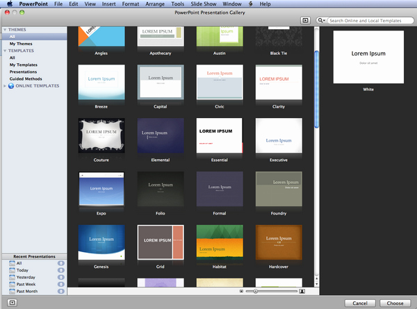 Download Powerpoint Templates for Mac Roncadefo