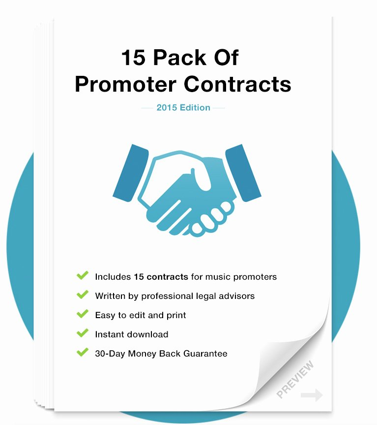 Download Promoter Contract Template Pack
