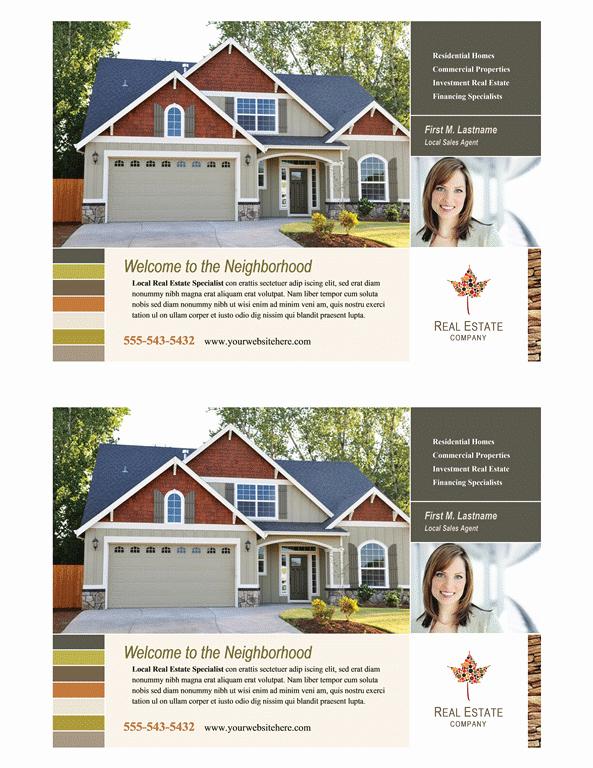 Download Real Estate Flyer Half Page Free Flyer