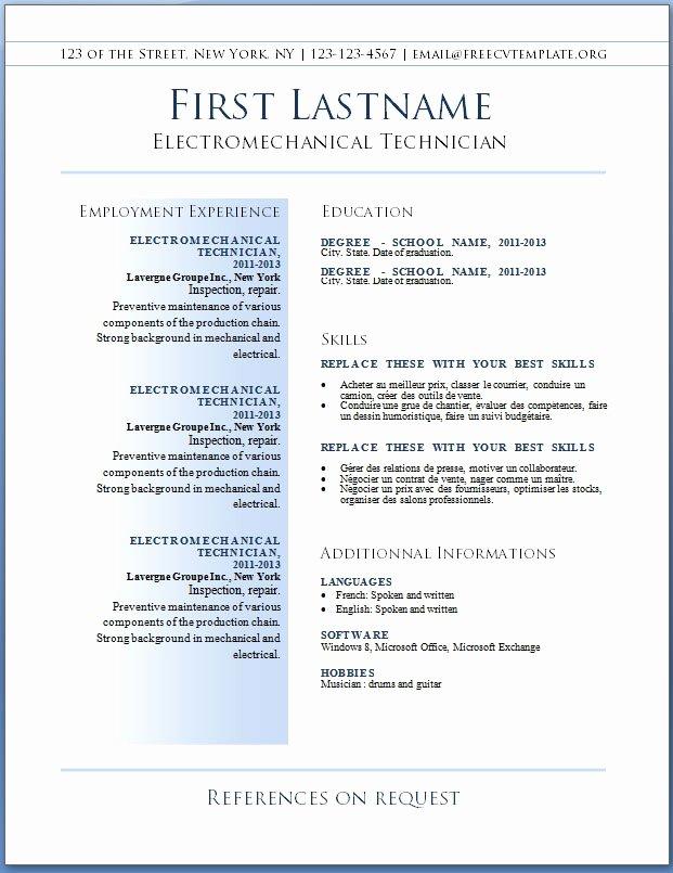 Download Resume Sample Best Resume Gallery