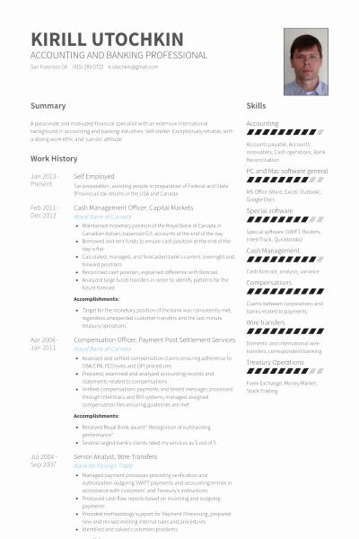Download Self Employed Resume Sample