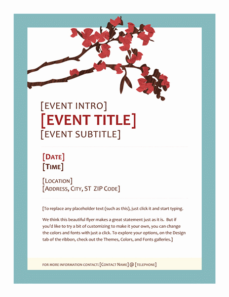 Download Spring event Party Flyer Design Ideas Examples