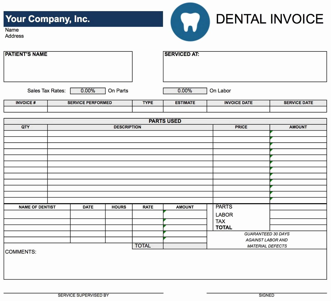 Downloadable Editable Invoice Template Templates