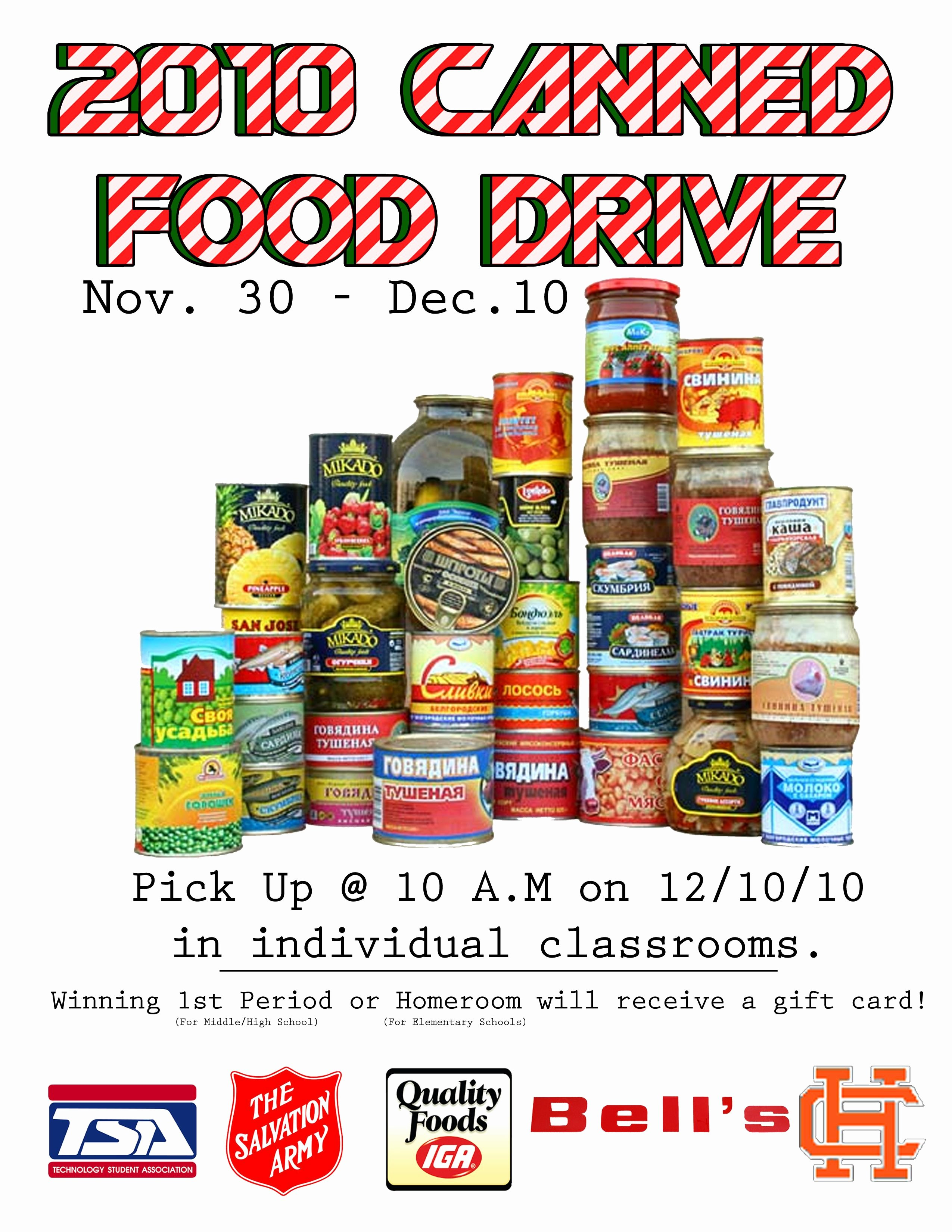 Downloadable Food Drive Flyers Bing