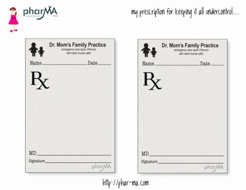 Dr Mom S Prescription Pad Teaching Kids