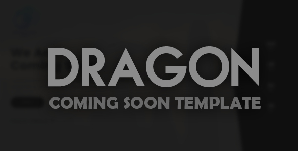 Dragon Creative Ing soon Template Free Nulled themes