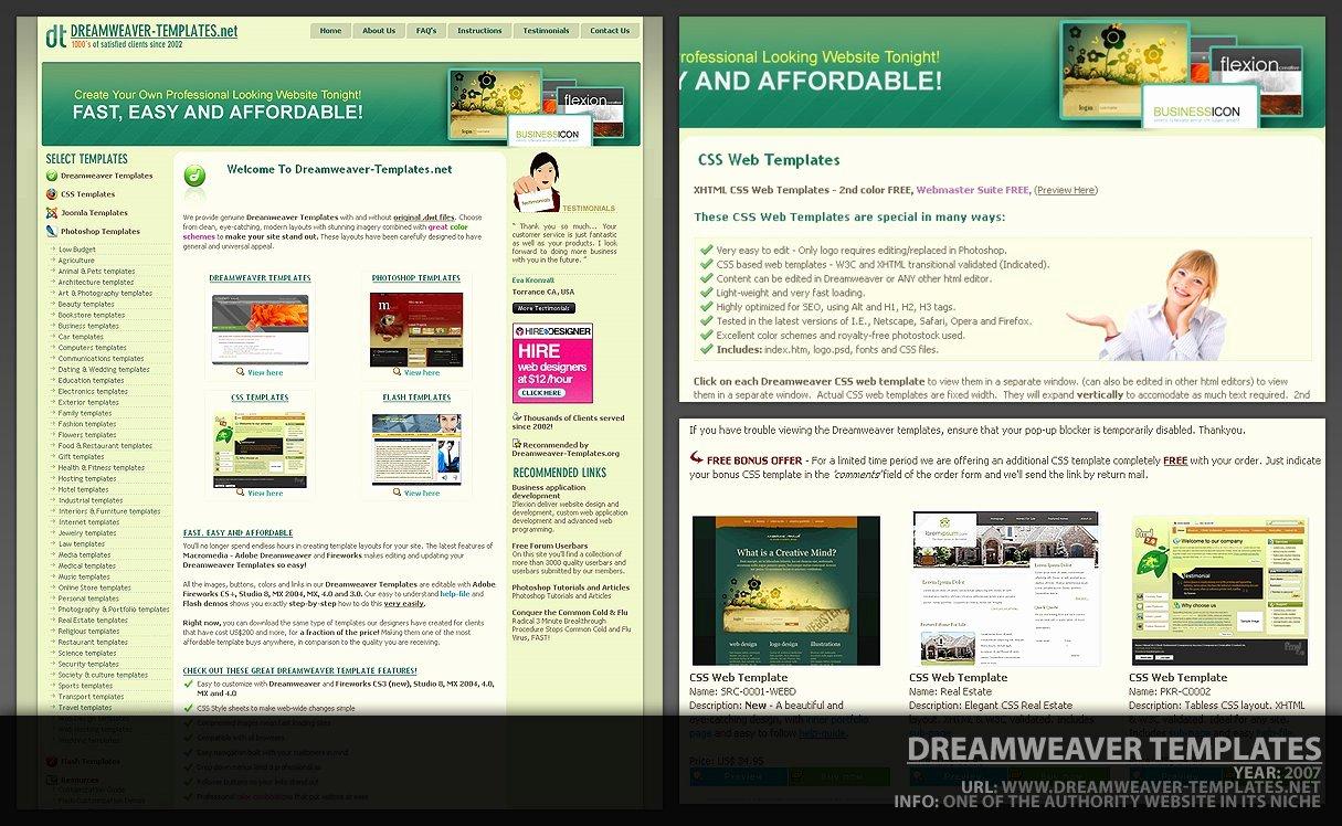 Dreamweaver Template by Designcode On Deviantart