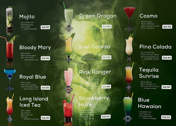 Drink Menu Templates – 30 Free Psd Eps Documents