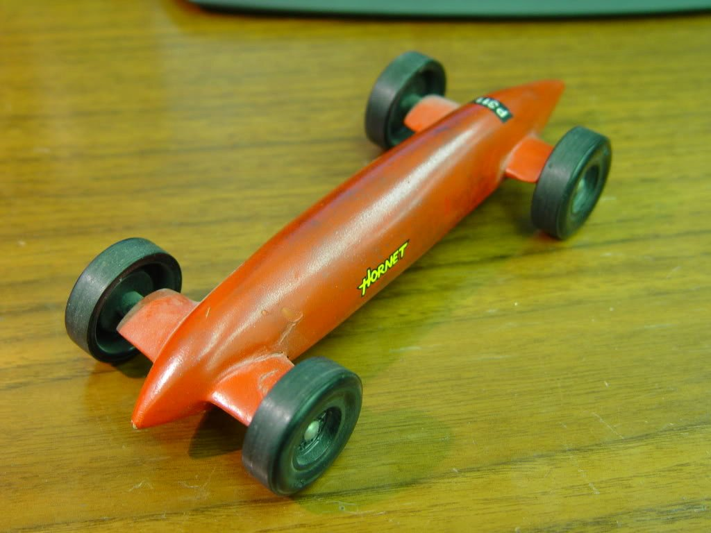 Drinking and Driving Pinewood Derby Style