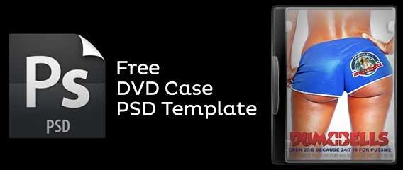 Dvd Case Shop Template Freebie