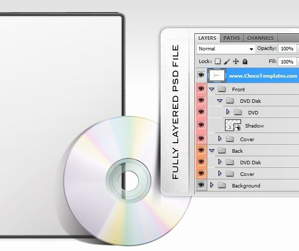 Dvd Cover Psd Template Free Psd Files