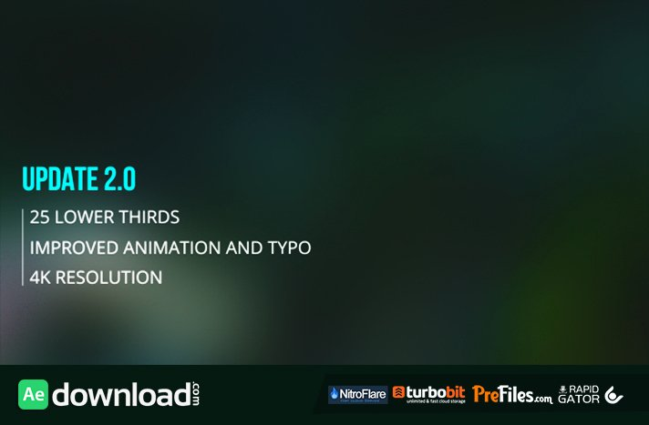 Dynamic Lower Third Videohive Free Download Free
