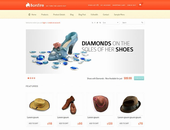 E Merce Website Templates