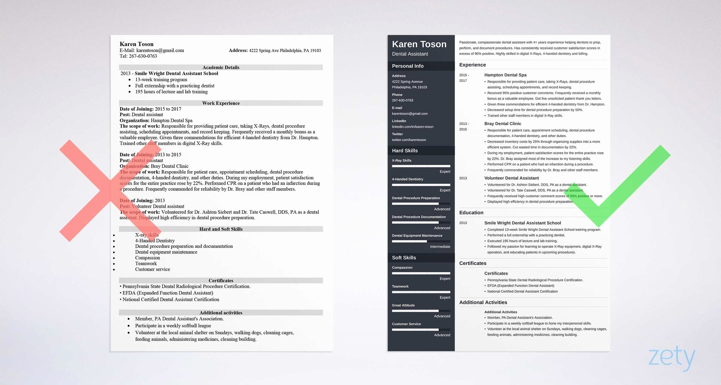 E Page Resume Templates 15 Examples to Download and Use now