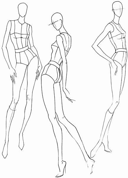 「fashion Croquis Poses」のおすすめ画像 701 件
