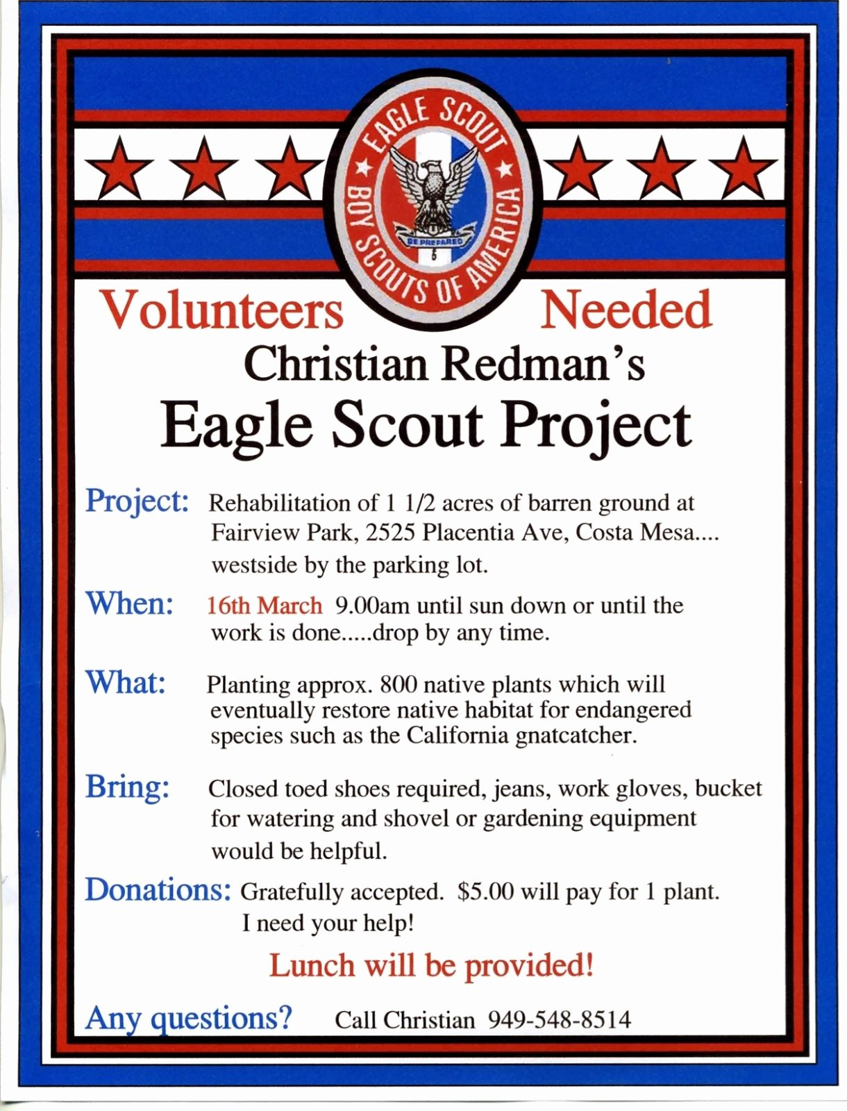 Eagle Project Flyer Google Search