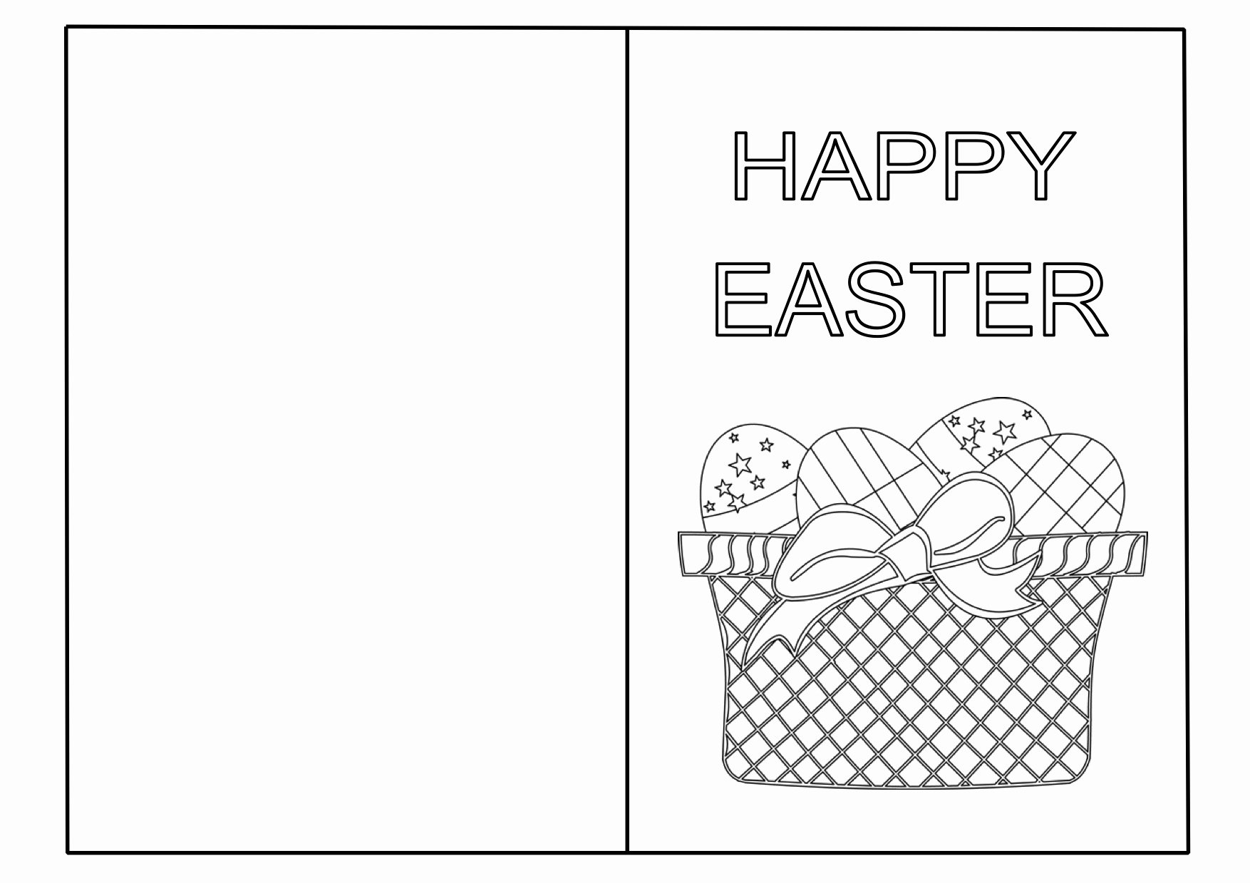 Easter Card Templates – Free Printable – Happy Easter