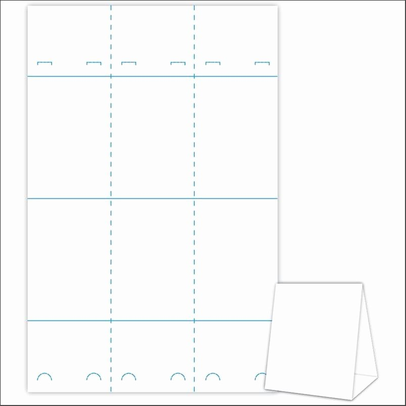 Easy Advertisement Using Table Tent Template 265