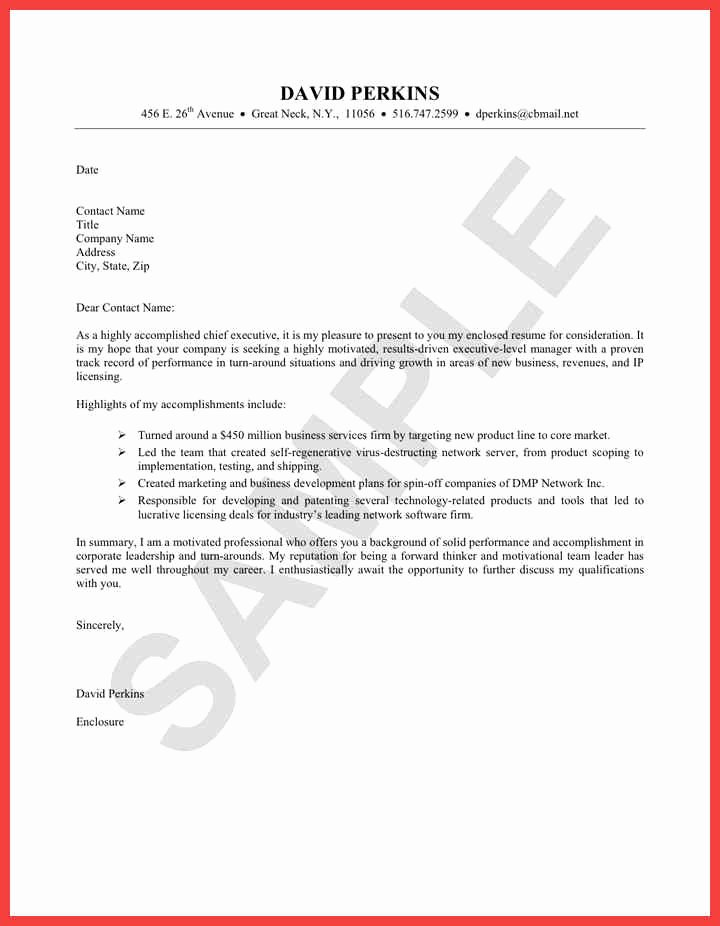 Easy Cover Letter Examples