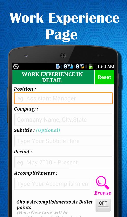 Easy Resume Builder Cv Jobs Resume Maker Free android