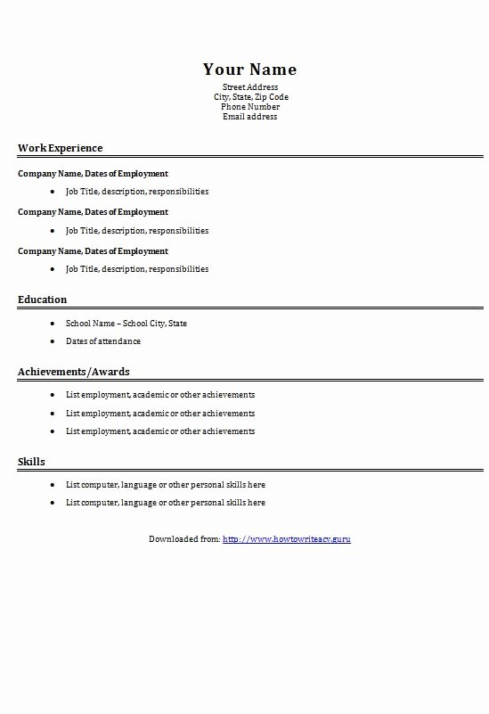 step by step resume builder