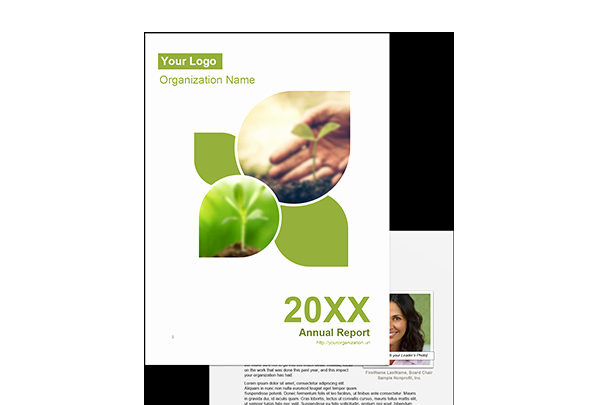 Easy to Use Nonprofit Annual Report Template