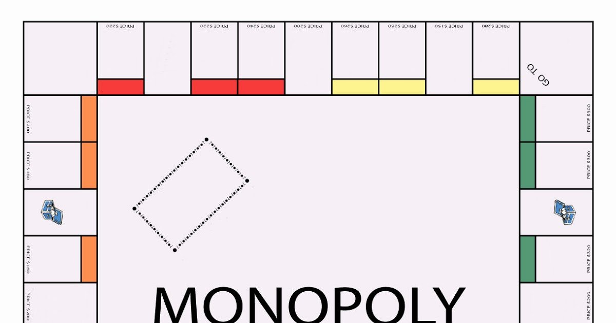 if you were to make monopoly board for m=1
