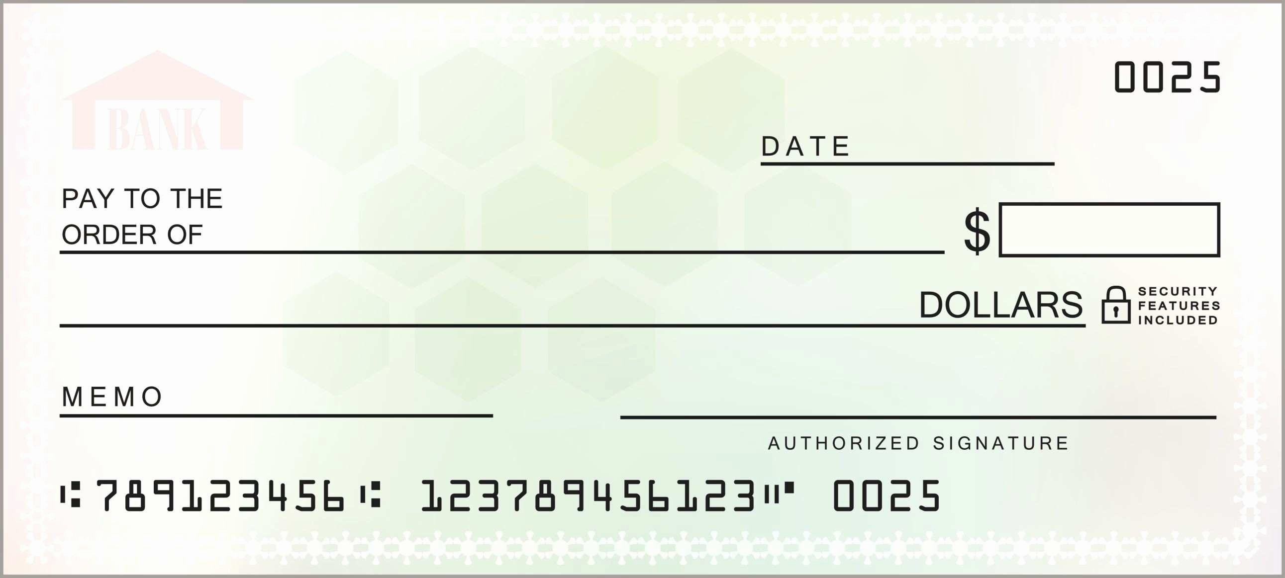 Editable Blank Check Template Pdf Fresh Printable Receipt