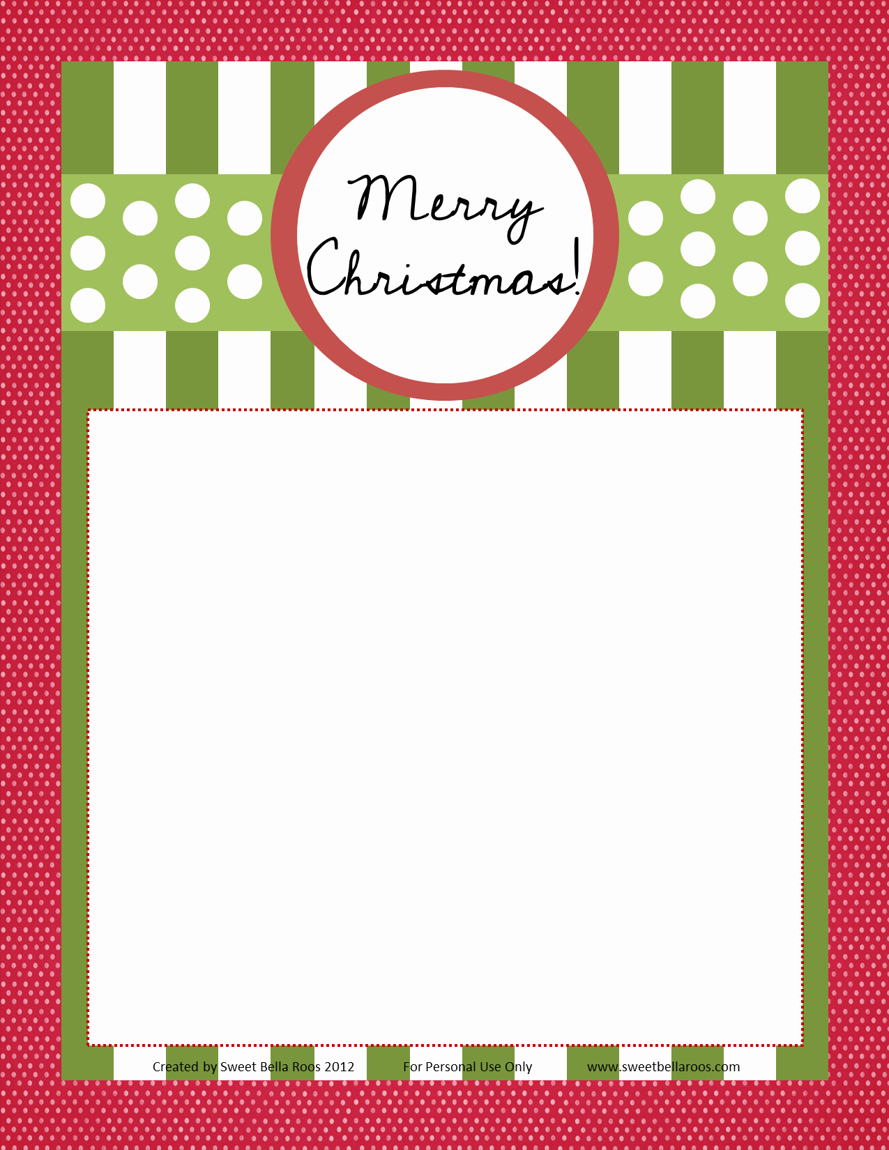 Editable Christmas Letter Template Templates Data