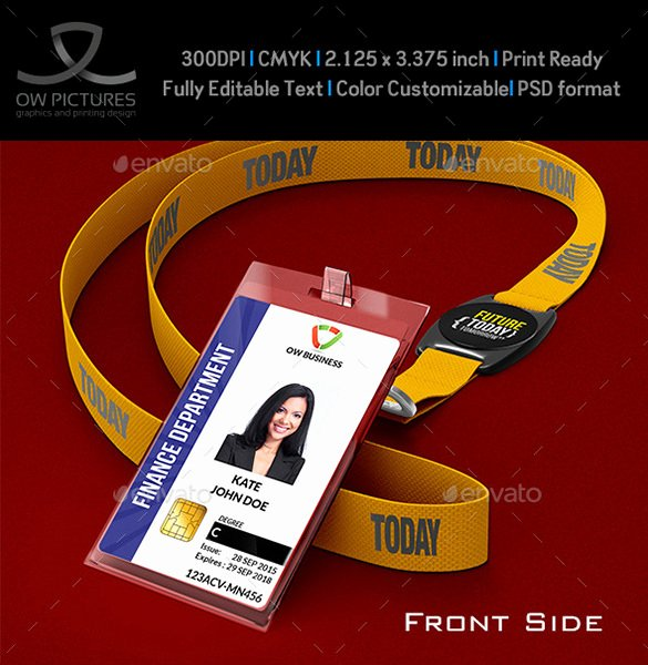 Editable Id Card Template Free Download Templates Data