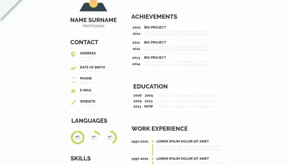 Editable Resume Templates – Mensrepublicfo