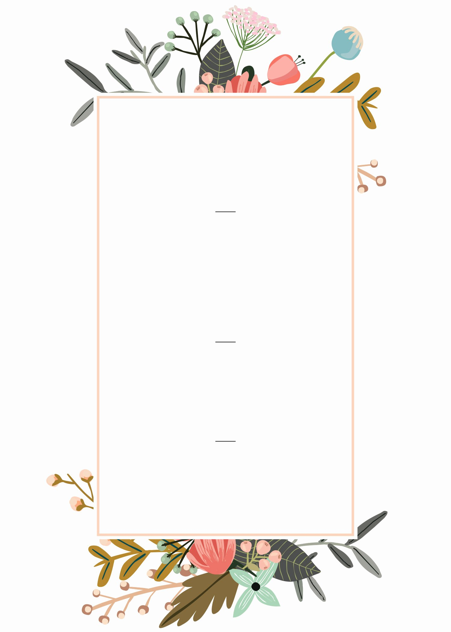 Editable Wedding Invitation Templates for the Perfect Card