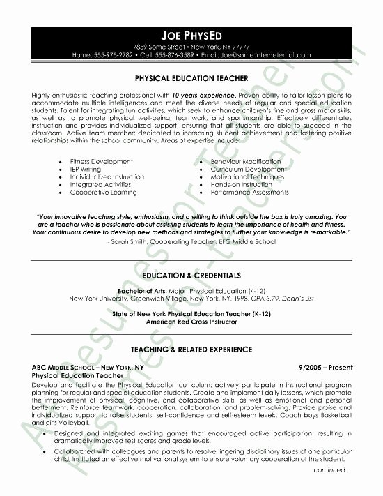 Education History Resume Best Resume Collection