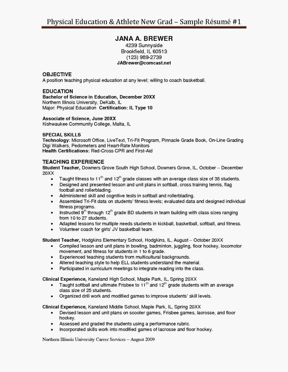 Education Objective Resume Resume Template