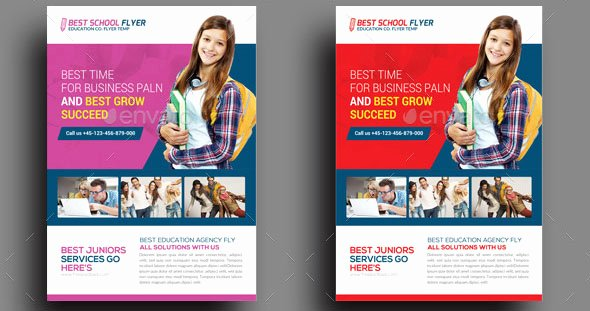 Educational Flyer Templates Yourweek Aa7664eca25e