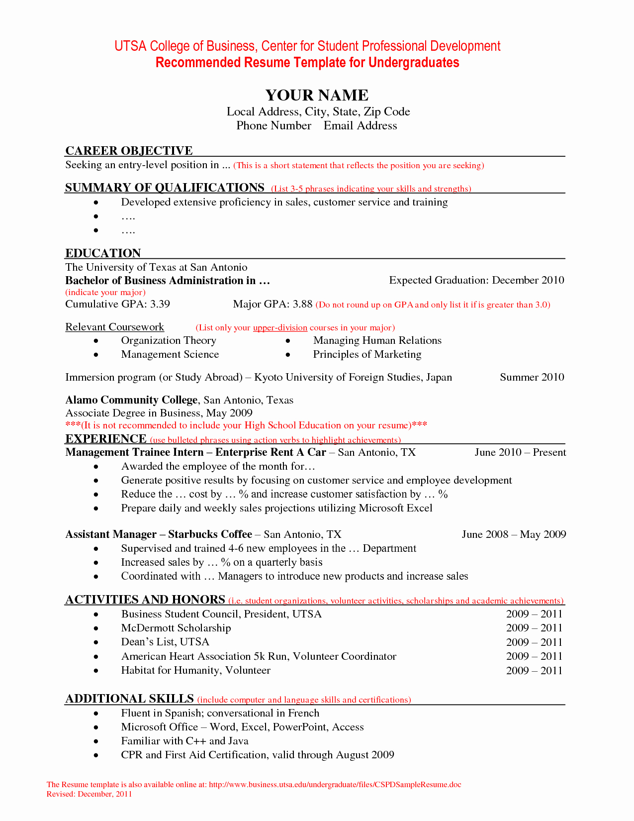 Educator Resume Template for Word and Pages Principal