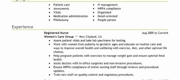 Effective Nursing Resume Keywords to Use